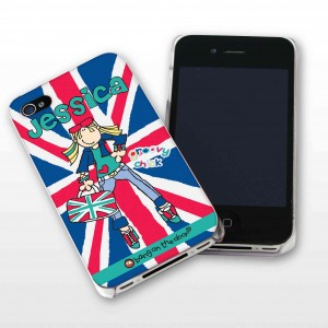 Bang On The Door Groovy London Chick iPhone Case