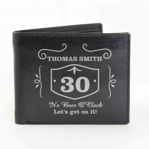 Black Classic Whisky Wallet