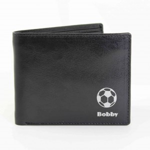 Black Football Wallet