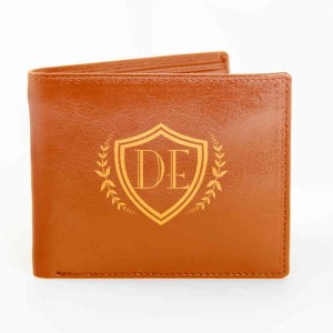 Tan Shield Wallet