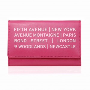 Pink Shopping Destination Purse