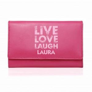 Pink Live Laugh Love Pink Purse