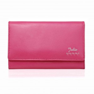 Pink Name & Hearts Purse