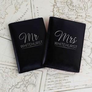 Mr & Mrs Black Passport Holders
