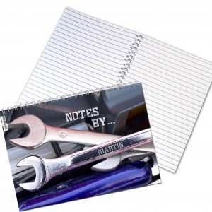 Tool Kit A5 Notebook