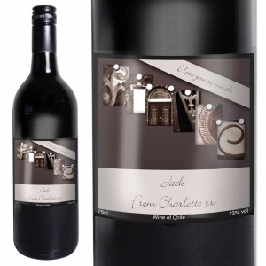 Affection Art Fiance Red Wine with Gift Box